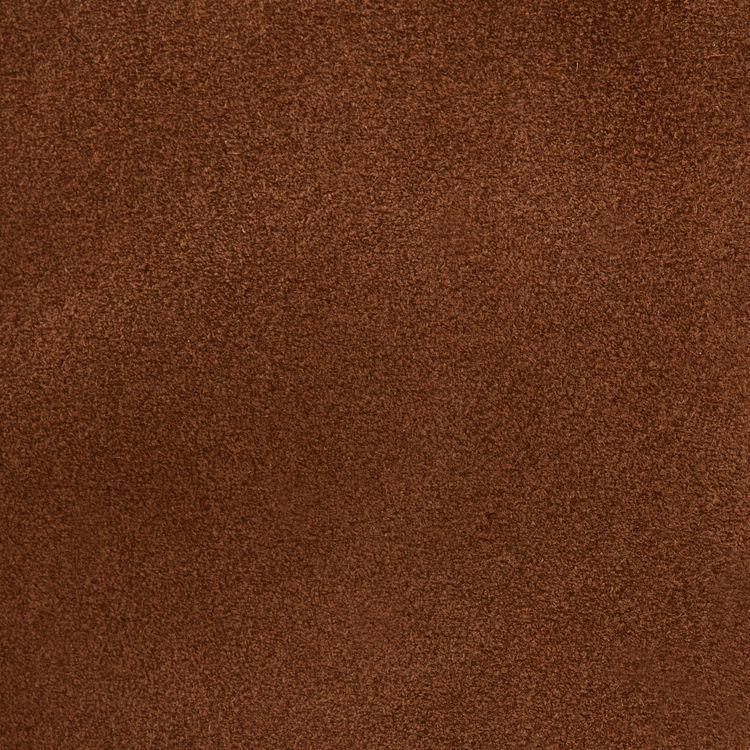 Borsa M in pelle scamosciata : Borse M colore Cammello