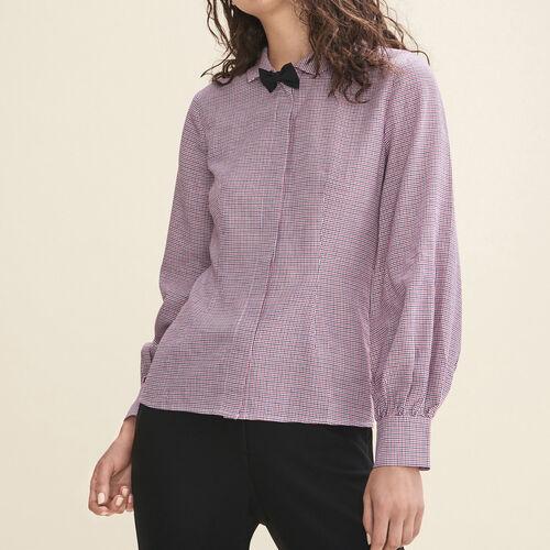 Camicia a quadretti : Tops colore IMPRIME