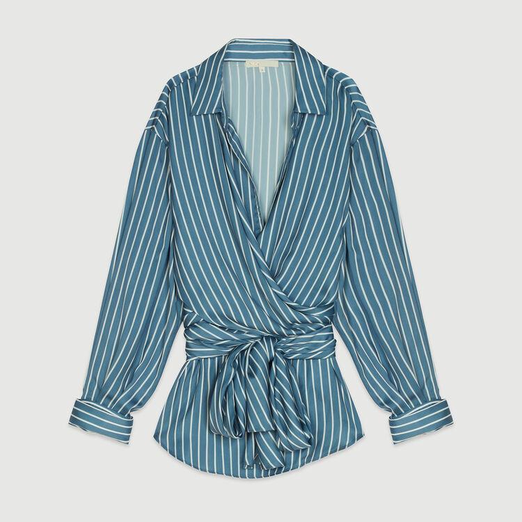 Camicia scalda cuore a righe : Camicie colore A Righe