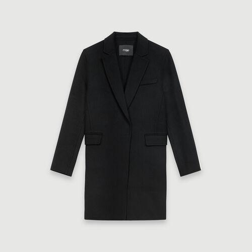 Cappotto corto double face : Cappotti e Giubbotti colore Nero