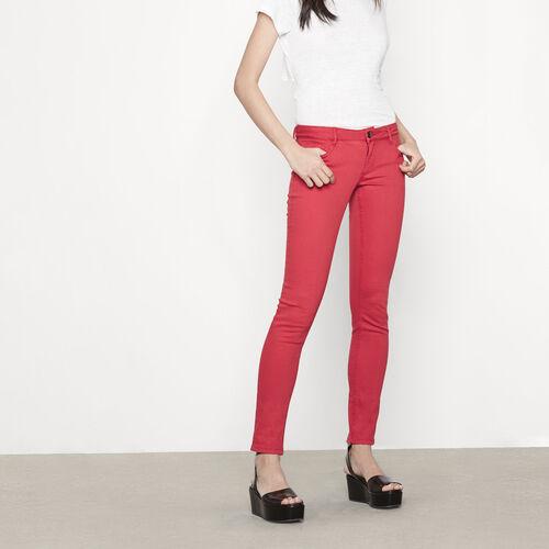 Jeans skinny con ricami : Pantaloni & jeans colore Cotto