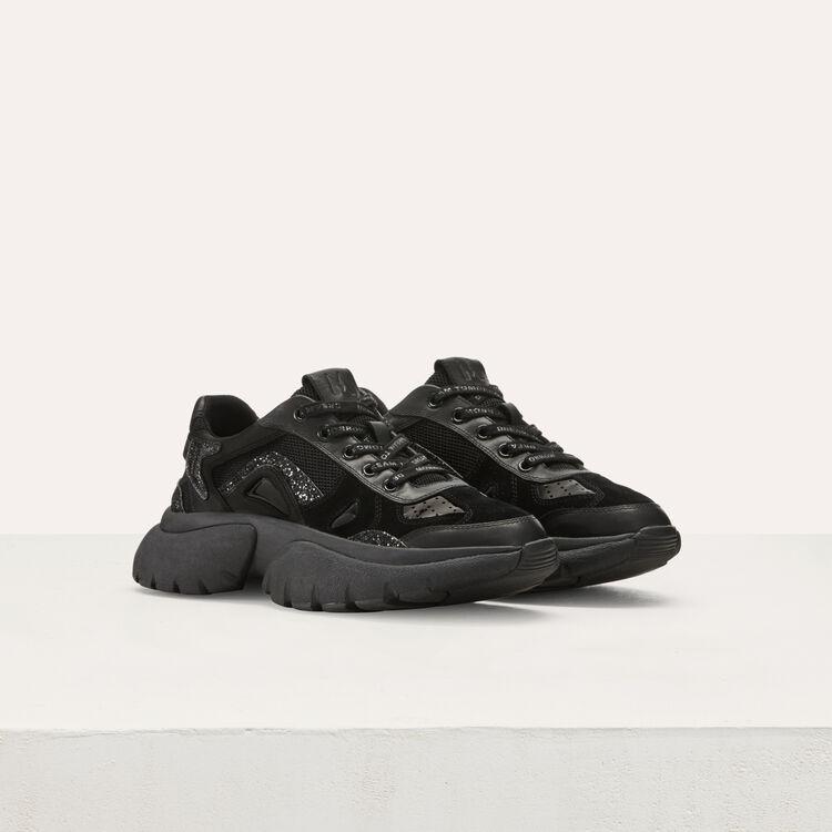 Sneakers di cita W20 di pelle : Sneakers colore Nero