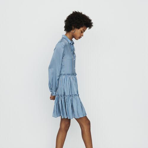 Vestito pattinatrice in pizzo : Vestiti colore A Righe