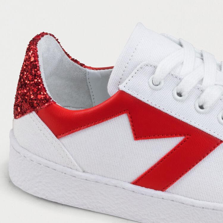Sneakers con dettagli a contrasto : Sneakers colore Bianco