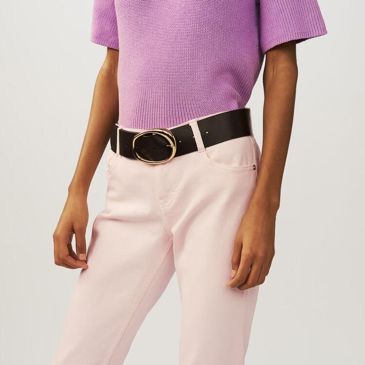 3/4 sleeve jumper : Maglieria colore LILAS