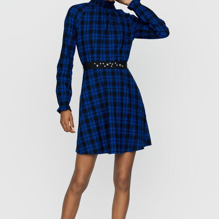 Vestito corto a quadri : Vestiti colore CARREAUX