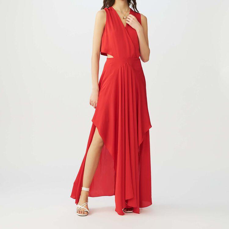 Vestito lungo senza maniche : Full Summer colore Rosso