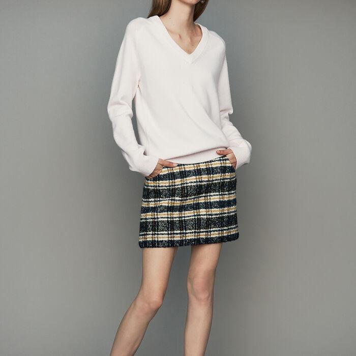 Pull oversize in lana e cachemire : Maglieria colore ECRU