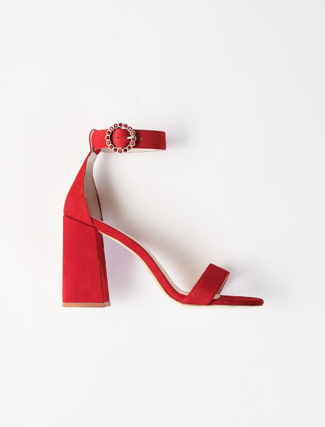 Sandali con tacco alto e cinturini - Sandali - MAJE