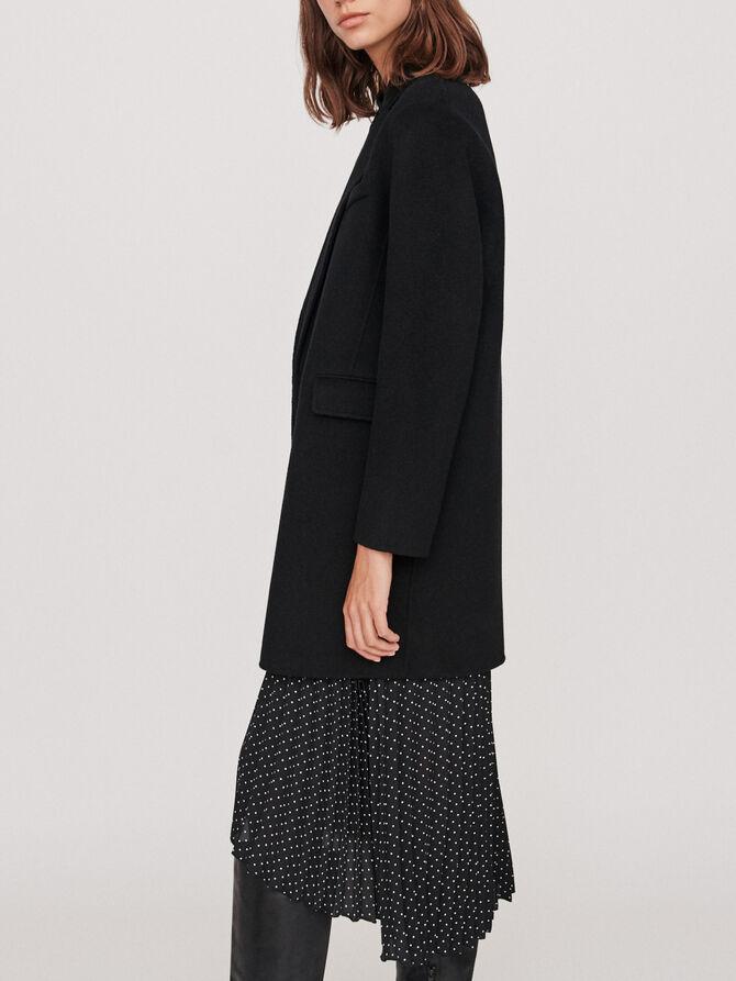 Manteau en laine double face - Cappotti e Giubbotti - MAJE