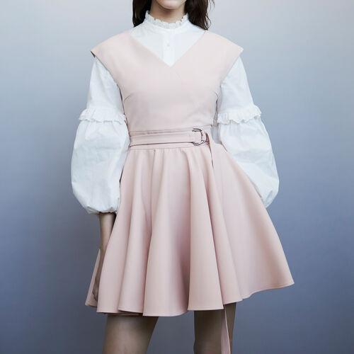 Vestito pattinatrice senza maniche : Vestiti colore Rosa