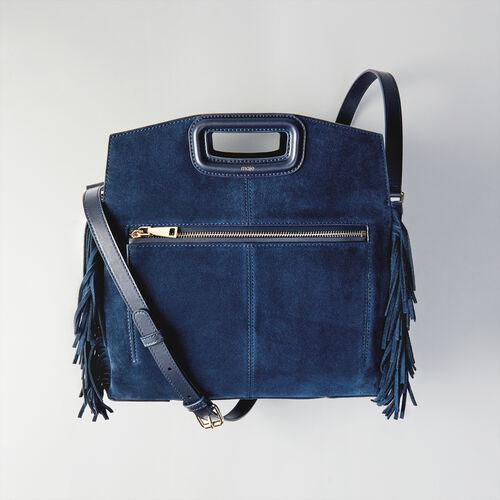 Pochette M Duo in pelle : Totes & M Walk colore Blu Marino