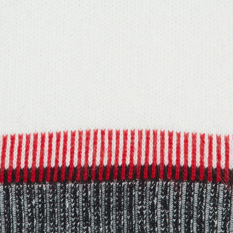 Pull oversize in misto lana : Maglieria colore Multicolore
