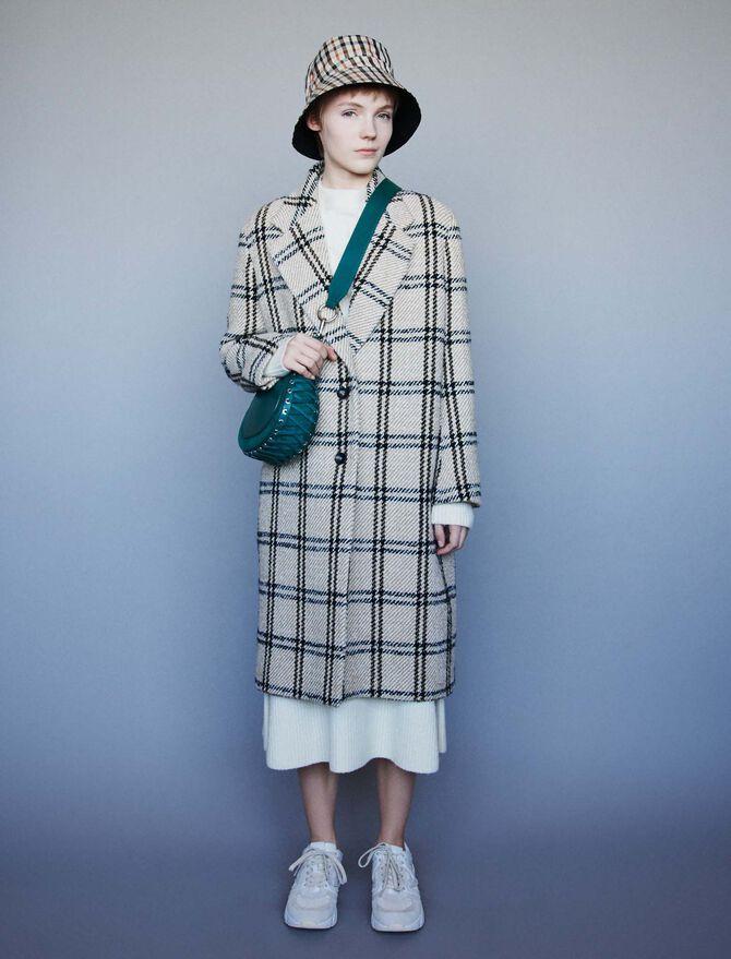 Long plaid coat - Giacche e Giubbotti - MAJE