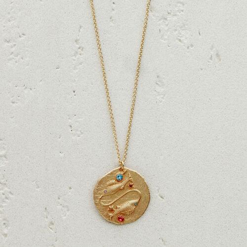 Collana segno zodiacale Scorpione : Gioelli colore OR