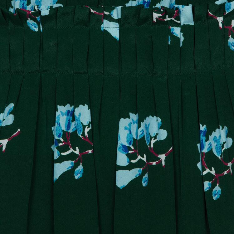 Vestito corto con stampe floreali : Tute colore IMPRIME