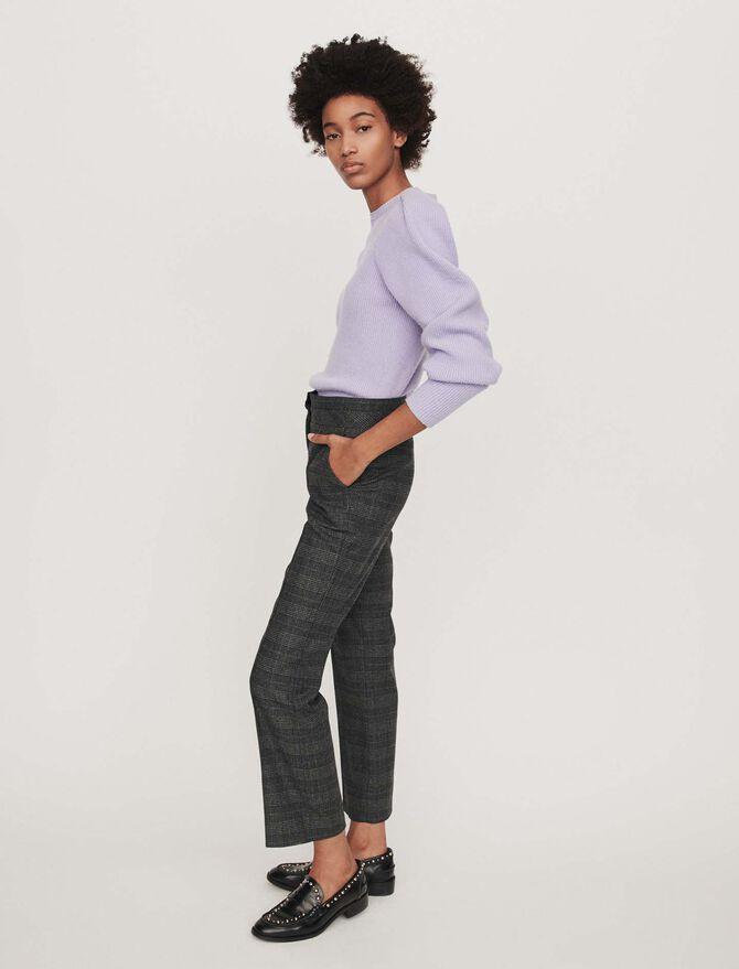 Pantalone in principe-di-galles - Pantaloni - MAJE