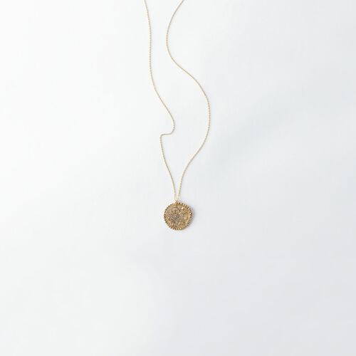 Collana segno zodiacale Toro : Tutti gli accessori colore Ottone Antico