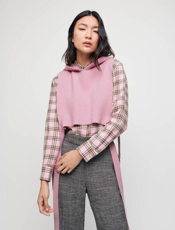 Collo in maglia con cappuccio - Pullover e cardigan - MAJE