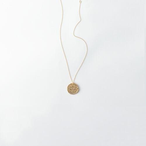 Collana segno zodiacale Bilancia : Tutti gli accessori colore Ottone Antico