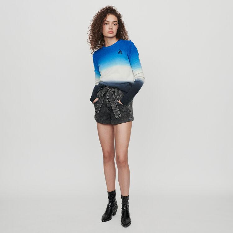 Pull in scala di colori : Pullover e cardigan colore BLEU AZUR
