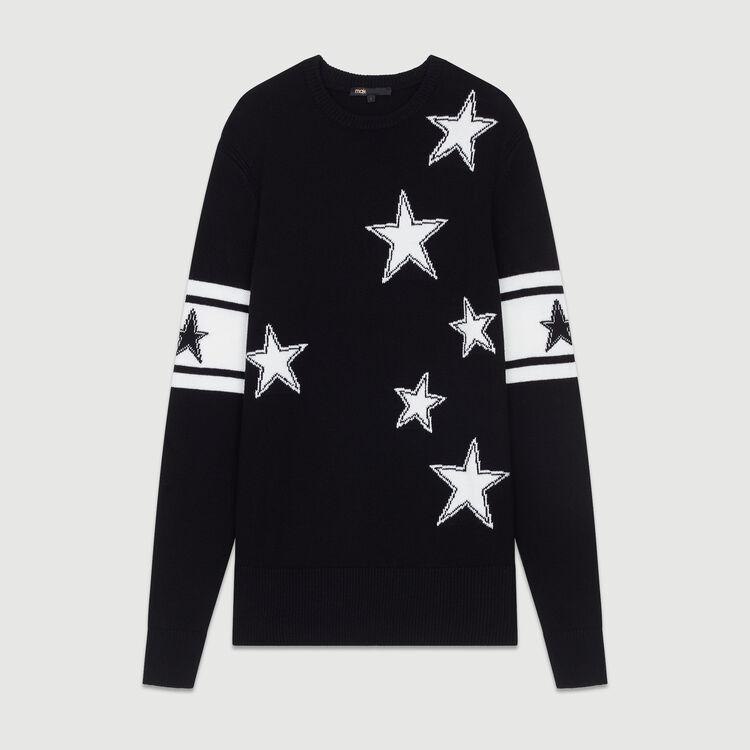 Pull oversize in maglia : Maglieria colore Nero