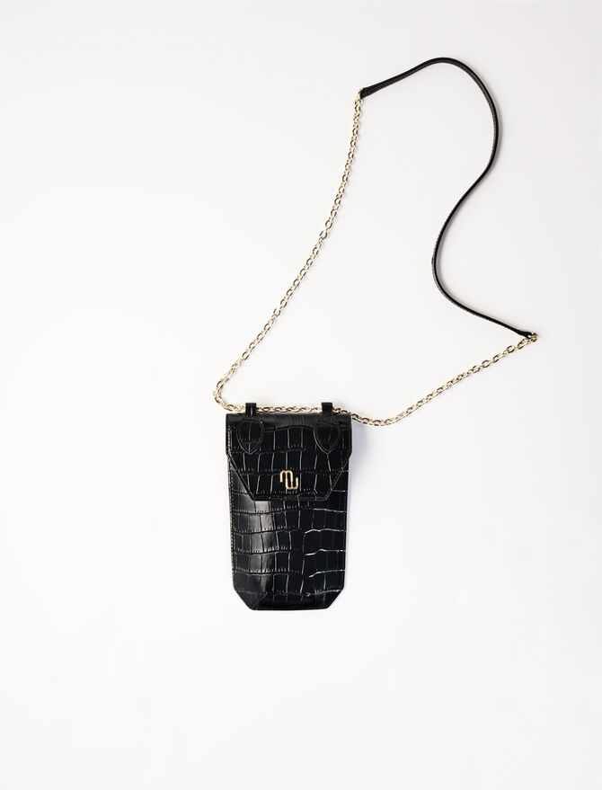 Porta-telefono stile coccodrillo -  - MAJE