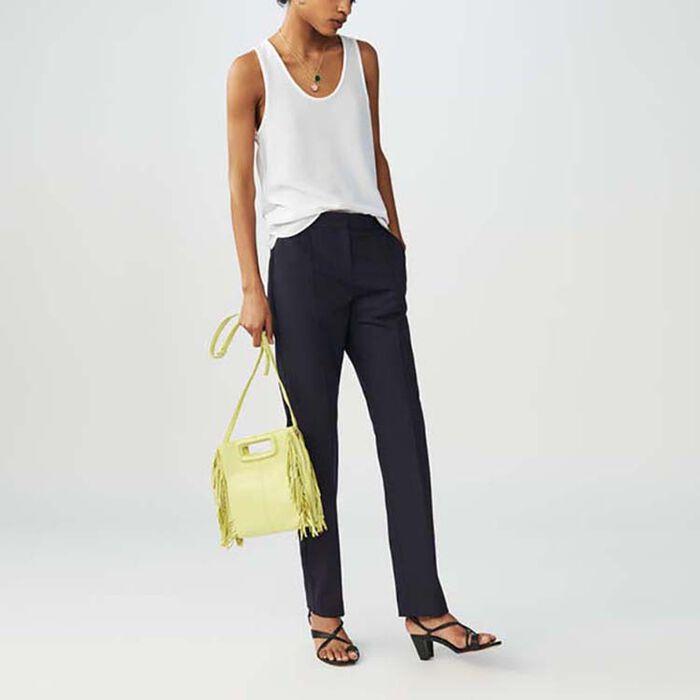 Pantaloni tailleur a righe tennis : Pantaloni colore A Righe