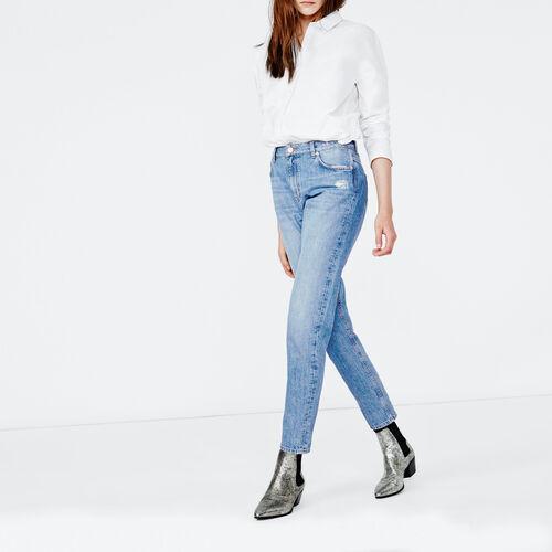 Jeans mom : Pantaloni & jeans colore Blu