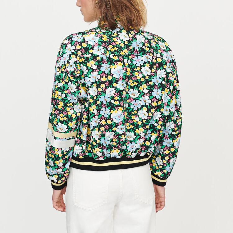 Giubbotto con stampa floreale : Cappotti e Giubbotti colore IMPRIME
