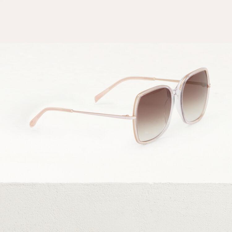 Lunettes de soleil en acétate et métal : Occhiali colore Rosa