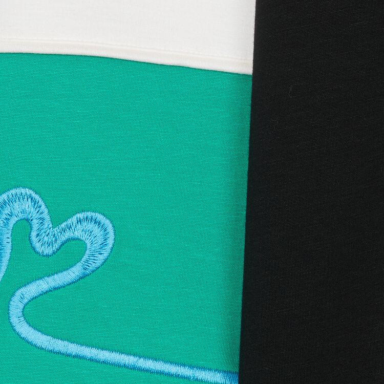 Felpa multicolore stile Neoprene : Prêt-à-porter colore Multicolore