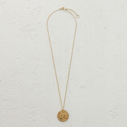 Collana segno zodiacale Vergine : Capi Essenziali colore OR