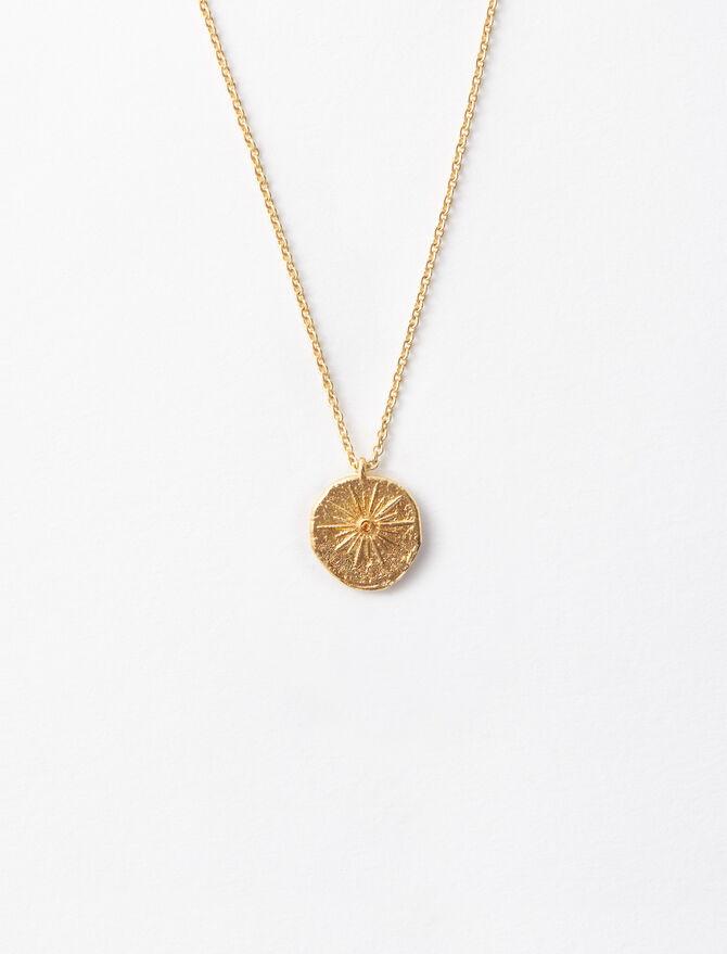 """Collana """"Mon Soleil"""" in placcato oro -  - MAJE"""