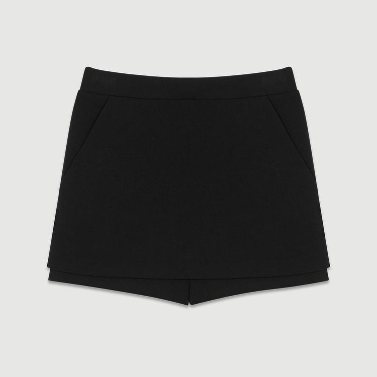 Panta-gonna in crepe : Nuova Collezione colore Nero