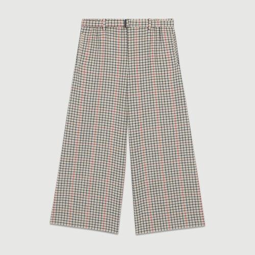 Pantalone a quadri : Office girl colore CARREAUX