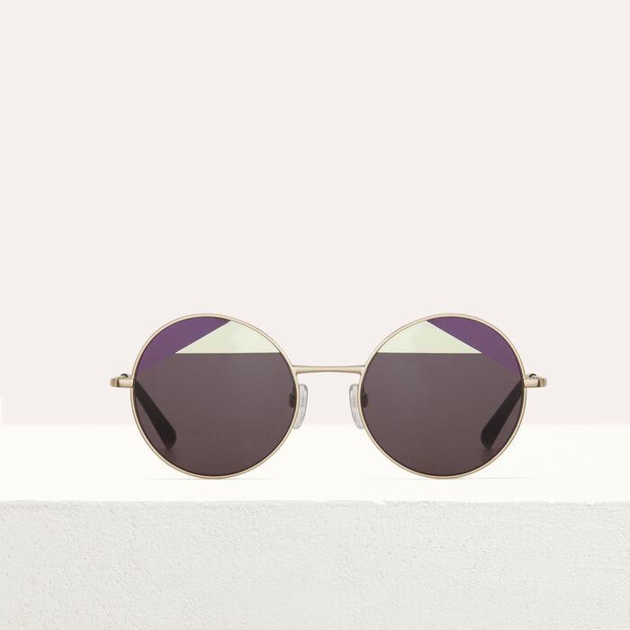 Lunettes de soleil en métal : Occhiali colore Multicolore