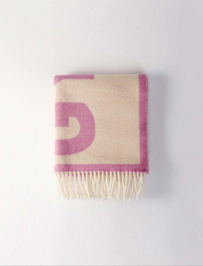 Jacquard scarf -  - MAJE