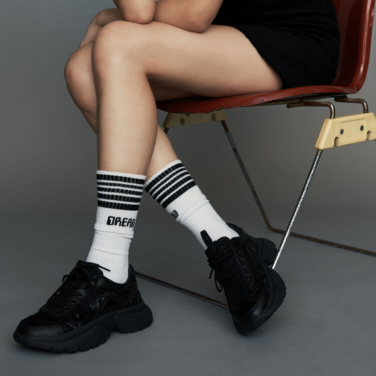 Socks urbane in cotone : Gift with purchase colore Bianco