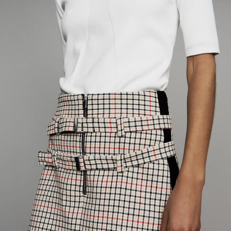 Pantaloncini trompe-l'œila quadri : Nuova Collezione colore CARREAUX