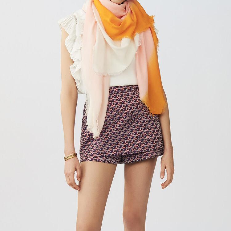 Tie and dye M printed : Scialli & Poncho colore Bicolore