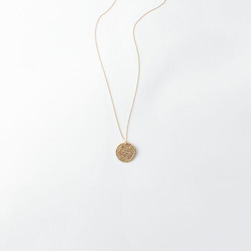 Collana segno zodiacale Scorpione : Tutti gli accessori colore Ottone Antico