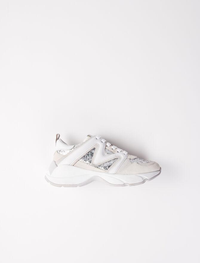 Sneaker W22 con paillette - Sneakers - MAJE