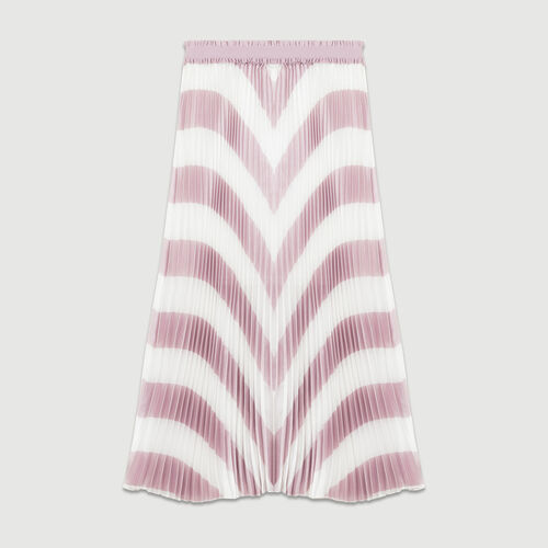 Gonna lunga plissettata : Gonne e shorts colore LILA