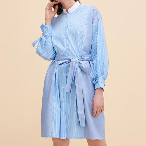 Chemisier a righe : Vestiti colore Blu