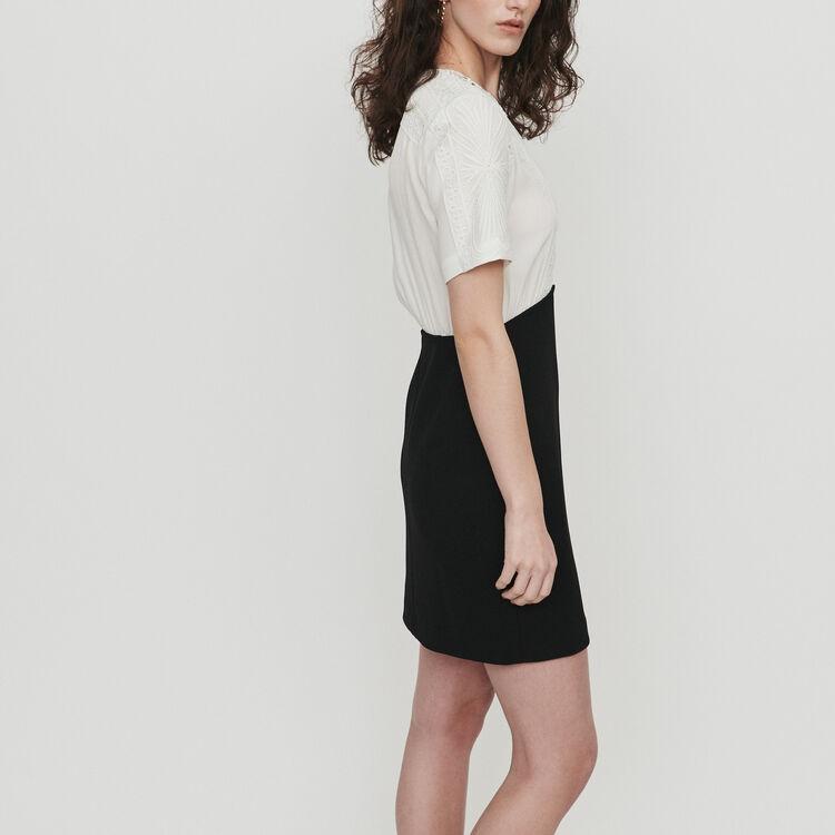 Vestito in pizzo : Vestiti colore Bianco Sporco