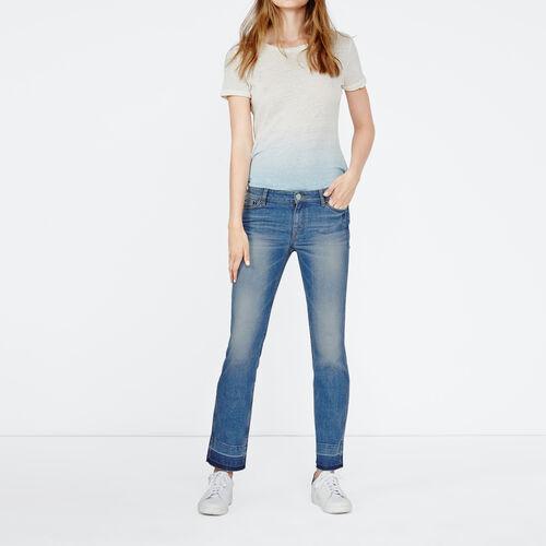 Straight cut jeans : Pantaloni & jeans colore Denim