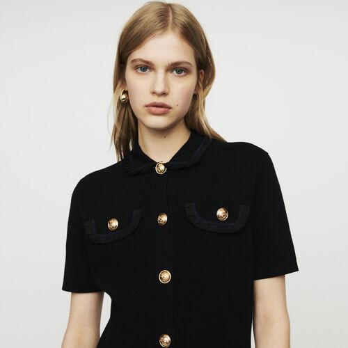 Vestito in maglia : Vestiti colore Nero