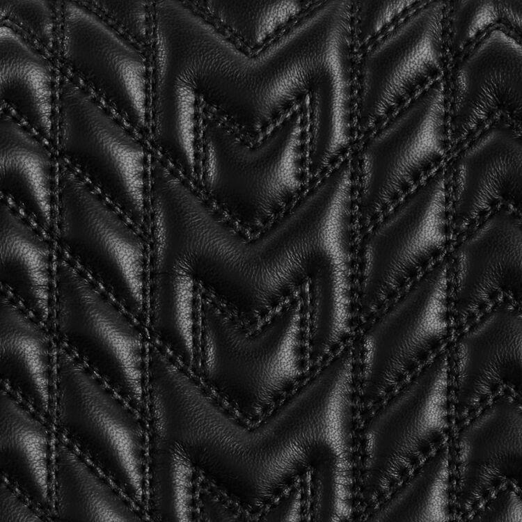 Borsa stile mini cartella in pelle : Borse LDance colore Nero