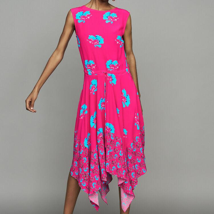 Vestito lungo stampato senza maniche : Vestiti colore IMPRIME